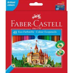 Faber-Castell színes ceruza 48db színes ceruza Várak