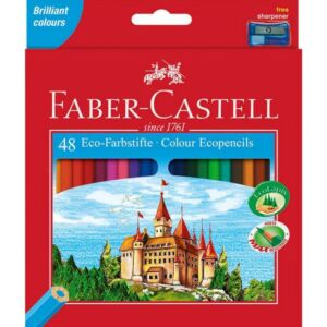 Faber-Castell színes ceruza 48db színes ceruza Várak 120148