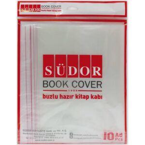 Könyvborító A4 öntapadós Südor 28x46mm, állítható széllel 10ív/cs tankönyv és füzetborító kollekció