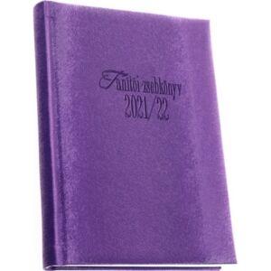 Tanítói zsebkönyv 2021/22 heti 145x205mm, 160 oldal, lila színű Realsystem 2021 kollekció! 5317-07