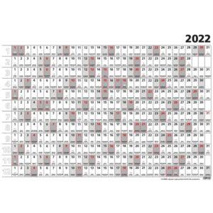Tervezőnaptár 2022 T100 Terminus B1 Plakátnaptár Toptaimer 2022 kollekció!