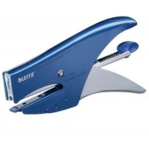 Tűzőgép Leitz 5547 kék hátultöltős Leitz 1db rendelési egység ár 1db-ra