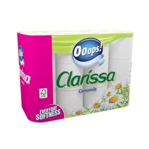Toalettpapír 3rétegű 24 tekercses Clarissa