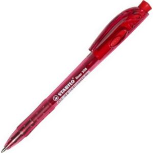 Toll golyós 0,38 Stabilo Liner 308 nyomógombos piros Írószerek STABILO 308F1040