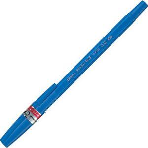 Toll Zebra H-8000 super fine kék, 0,5mm kupakos golyós toll