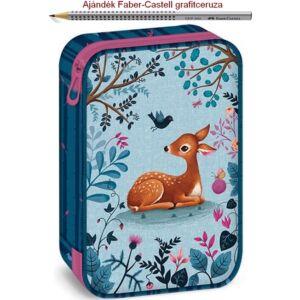 Tolltartó Ars Una többszintes My Secret Garden - őzikés Easy 19' prémium minőségű tolltartó
