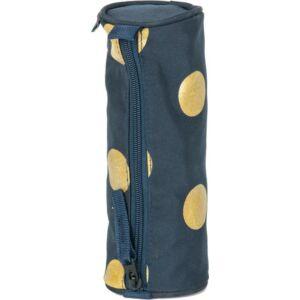 Tolltartó Paso hengeres kék arany pöttyös 22x8 40g zippes