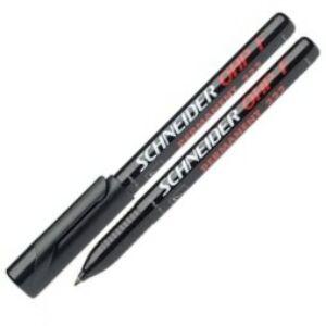 Alkoholos marker Schneider Maxx 222 F OHP 0,7mm tűhegyű fekete Írószerek SCHNEIDER 112201