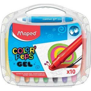 Zsírkréta 10 Maped Color`Peps Gel zselés csavaros, 10színű Írószerek Maped 836310