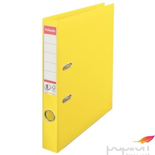 Iratrendező Esselte STANDARD VIVIDA A4 50mm élvédős sárga Esselte 10db rendelési egység ár 1db-ra