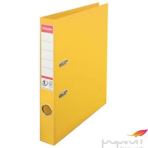 Iratrendező Esselte STANDARD 50mm élvédős sárga Esselte 10db rendelési egység ár 1db-ra
