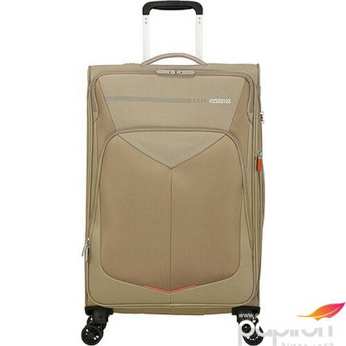 American Tourister bőrönd 67/2 Summerfunk 67/24 bővíthető bőrönd 124890/1030 bézs, 4 kerekű, textil