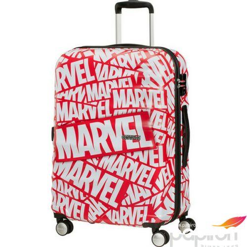 American Tourister bőrönd 67/2 WAVEBREAKER Disney Marvel 85671/8363 Marvel Logo, 4 kerekű