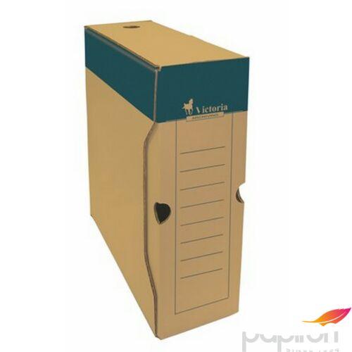 Archiváló doboz A4 Victoria 100mm natúr karton Iratrendezés Victoria 38068