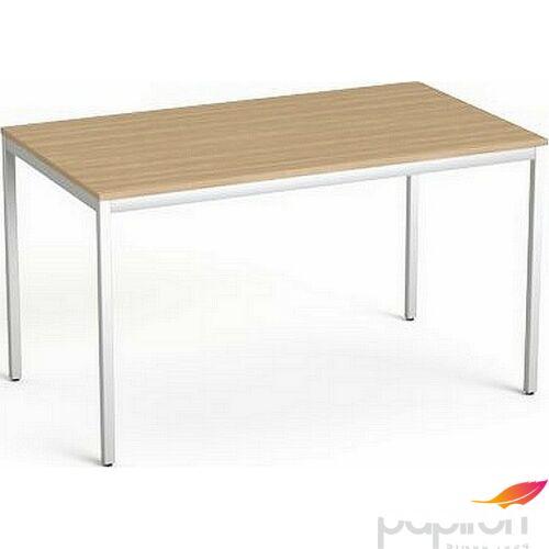 Asztal Irodai Mayah Freedom SV-38 kőris fémlábbal 75x130 cm