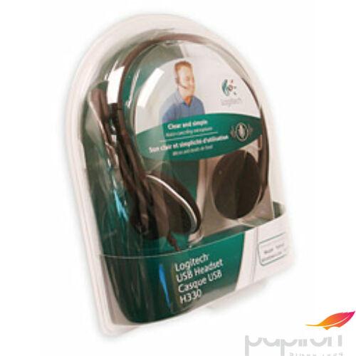 Fejhallgató Logitech h600 H600 Logitech