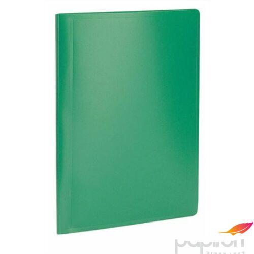 Bemutatómappa A4 20zseb zöld Viquel Standard Iratrendezés VIQUEL 504003-04