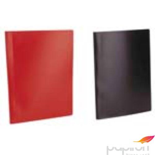 Bemutatómappa A4 40zseb piros Viquel Standard Iratrendezés VIQUEL 508001-04