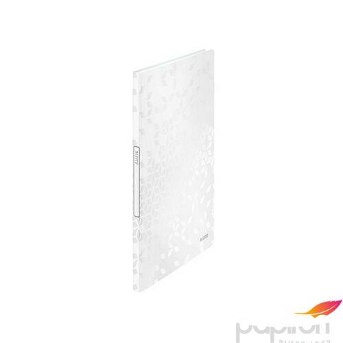Bemutatómappa A4 Leitz 20 zsebes Wow, fehér Iratrendezés, archiválás