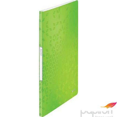 Bemutatómappa A4 Leitz 20 zsebes Wow, zöld Iratrendezés, archiválás
