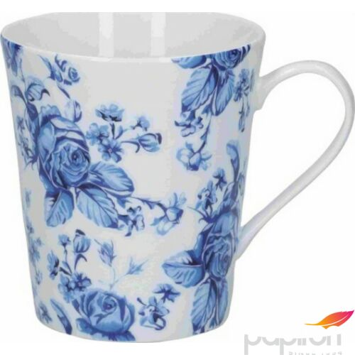 Bögre porcelán 330ml Blue Flower, Hampton, Mikasa