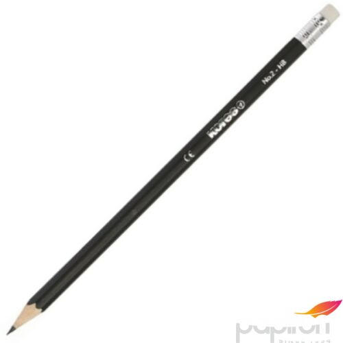 Ceruza radírral Kores HB HB hatszögletű