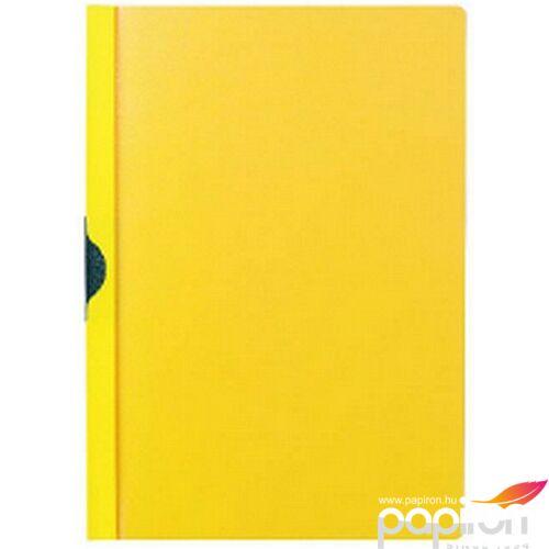 Clippes mappa Durable Duraclip 30 lapig sárga DURABLE 2200/04