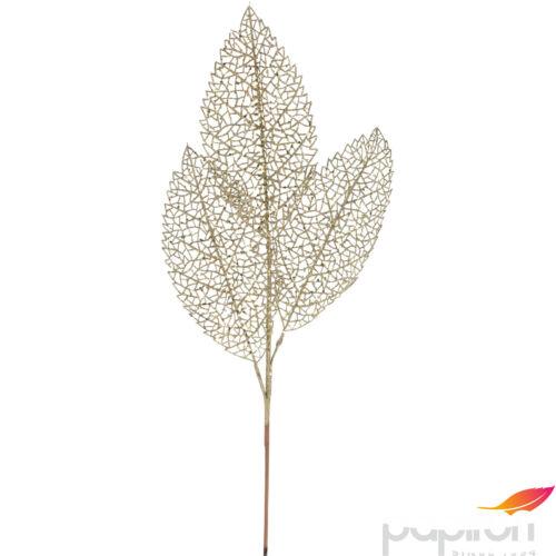 Dekor ág gllittereslevél 20' 70cm óriás glitteres ág