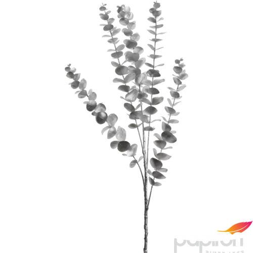 Dekor virág eucalyptus 90cm ezüst