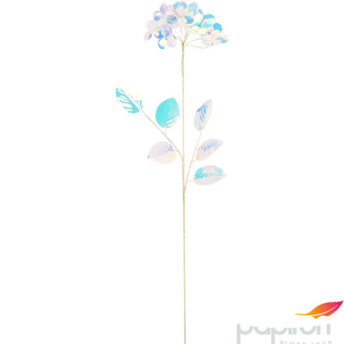 Dekor virág pick 59cm fehér clear színben varázslatos