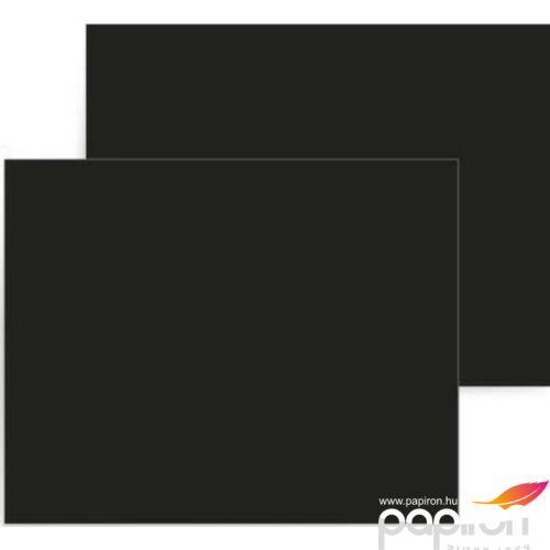 Dekorkarton 50x70cm 160g fekete