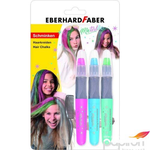 """Eberhard Faber hajszínező EF-Hajszínező kréta 3db-os """"metál színek csavarható mechanikával E579205"""