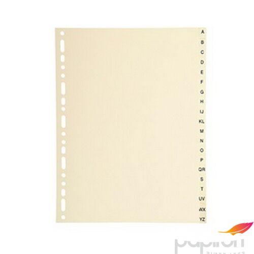 Elválasztó Exacompta A-Z A4 karton bézs színű ref.1120E