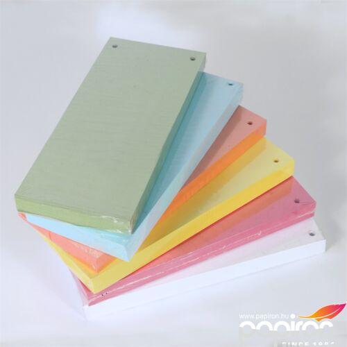 Elválasztócsík Fornax 10,5x24cm narancssárga 100lap/csomag