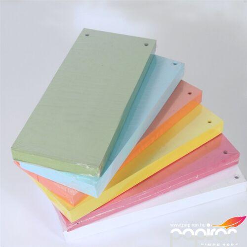 Elválasztócsík Fornax 10,5x24cm zöld 100 lap/csomag