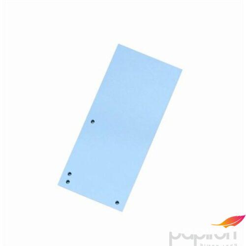 Elválasztócsík karton Donau 235x105mm kék 100ív/csom Iratrendezés DONAU 8620100-10PL