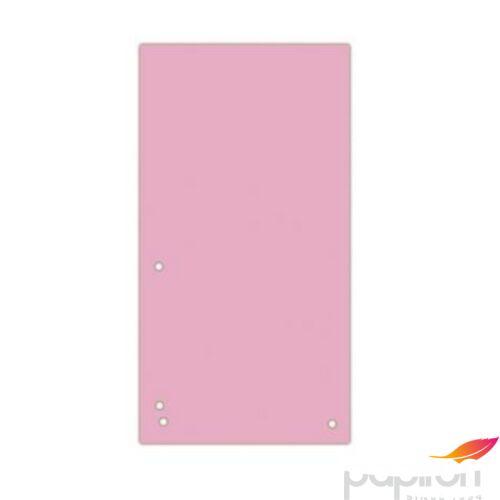 Elválasztócsík karton Donau 235x105mm rózsaszín 100ív/csom Iratrendezés DONAU 8620100-16PL