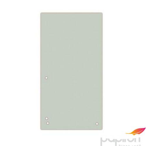Elválasztócsík karton Donau 235x105mm szürke 100ív/csom Iratrendezés DONAU 8620100-13PL