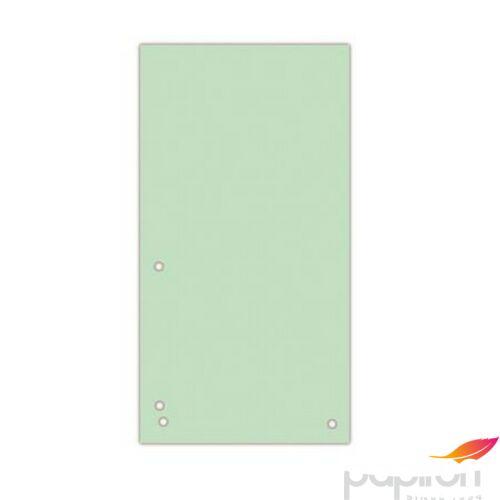Elválasztócsík karton Donau 235x105mm zöld 100ív/csom Iratrendezés DONAU 8620100-06PL