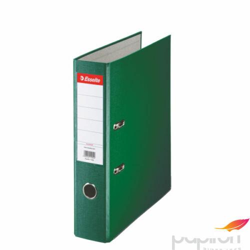 Iratrendező Esselte ECONOMY A4 75mm élvédővel zöld Esselte 20db rendelési egység ár 1db-r