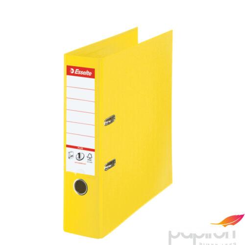 Iratrendező Esselte STANDARD PLUS VIVIDA A4 80mm élvédős sárga Esselte 10db rendelési egység ár 1db-ra
