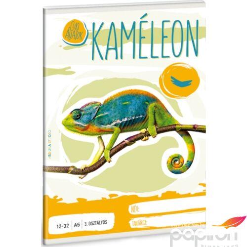 Füzet 12-32 A5 vonalas Ars Una Cuki Kaméleon kollekció