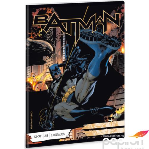 Füzet 12-32 A5 vonalas Ars Una Batman (811) 18'
