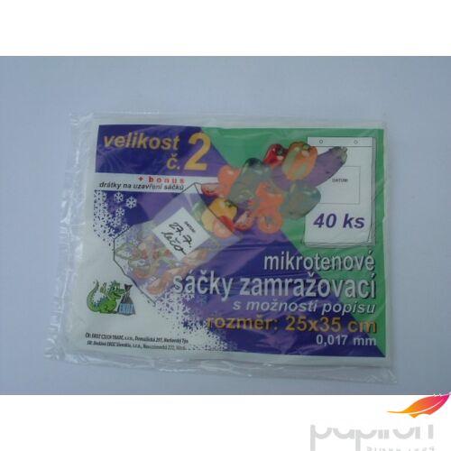 Hűtőtasak EKOZ 25X35 17mikronos SZM-0003