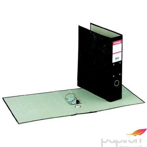 Iratrendező 70mm Esselte A4, karton üggőmappákhoz, márványos, fekete