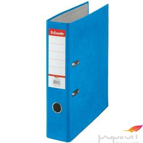 Iratrendező 75mm Esselte A4, karton Rainbow, kék