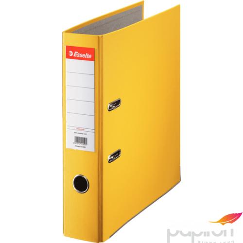 Iratrendező Esselte ECONOMY A4 75mm élvédős sárga Esselte 20db rendelési egység ár 1db-ra