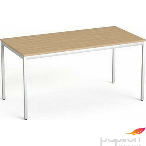 Asztal Irodai Mayah Freedom SV-39 kőris fémlábbal 75x150 cm