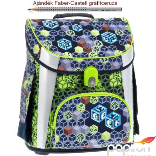 Iskolatáska Ars Una kompakt 21 Geek mágneszáras