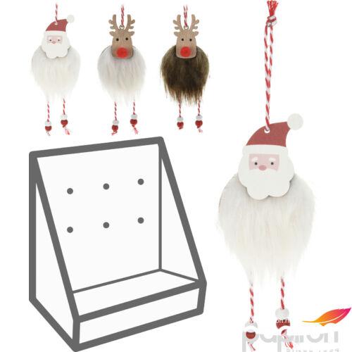 Karácsonyi 12cm rénszarvas 12cm rénszarvas, mikulás, szörmés